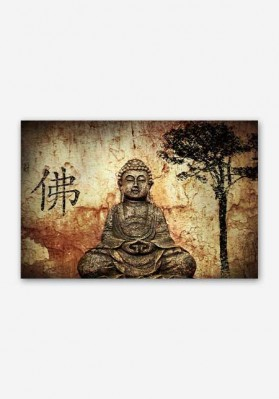 Lord Buddha Peace Poster