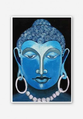 Lord Buddha Painting Poster