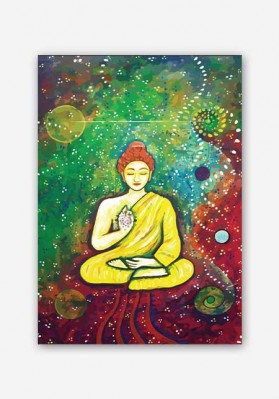 Buddha Psychedelic Art Poster