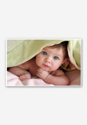 Cute Baby Poster
