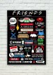 FRIENDS TV Series Quotes Poster